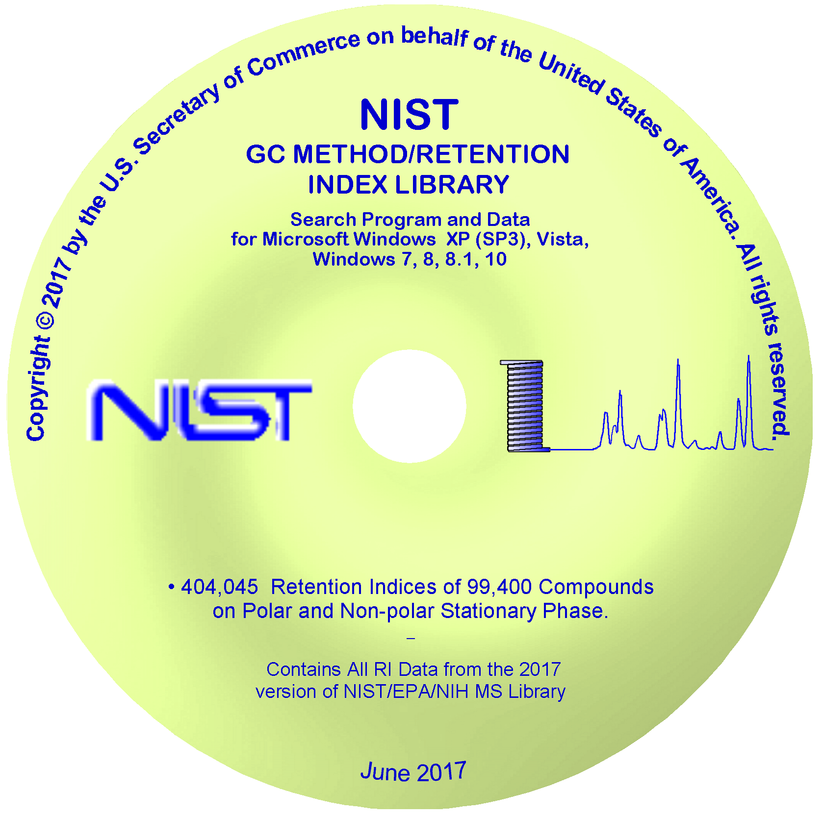 GCImage: NIST/EPA/NIH MS Library and Search Software - photo#10